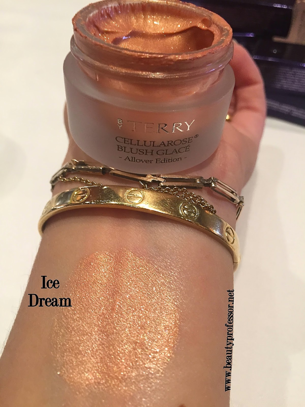 by terry cellularose blush glace all over edition swatches ice dream