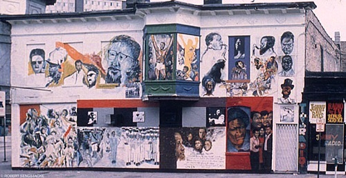 Black artist news transition william walker 1927 2011 for Chicago mural project