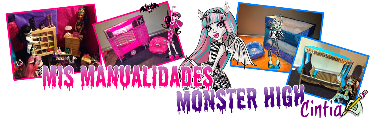 Mis Manualidades Monster High
