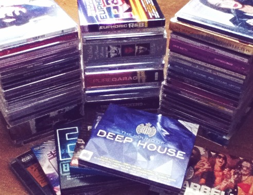 DVD's and CD's