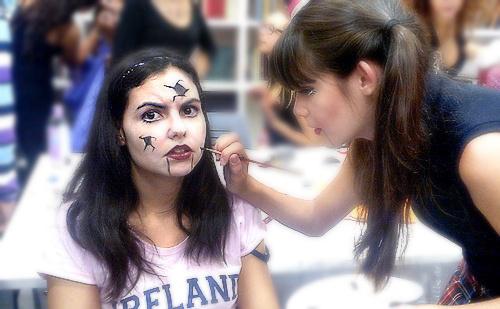 taller maquillaje halloween ciaj monika sanchez
