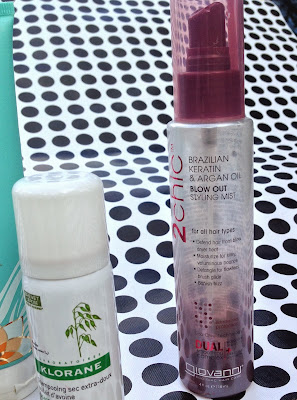 Giovanni Brazilian Keratin and Argan Oil Blow Out Styling Mist Review