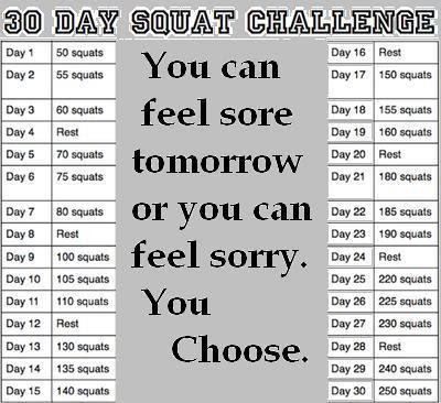 30 Day Butt Squat Challenge Before And After Images & Pictures - Becuo