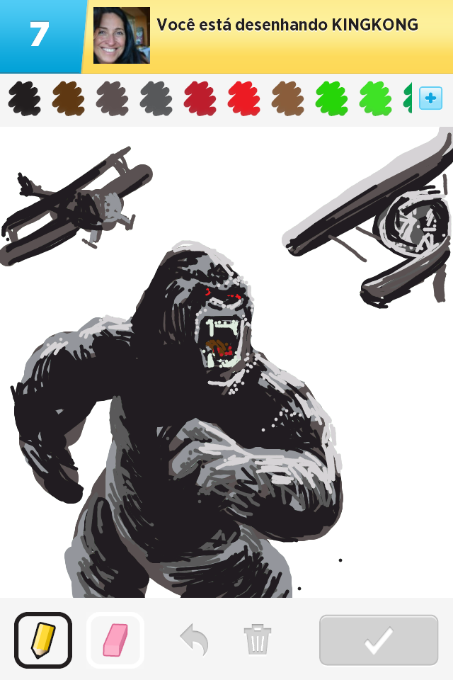 O Melhor Do Draw Something King Kong Iphone