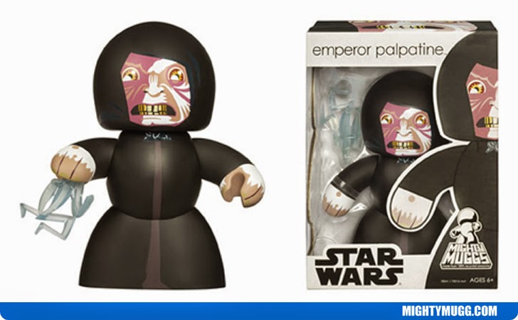 Emperor Palpatine Star Wars Mighty Muggs Wave 4