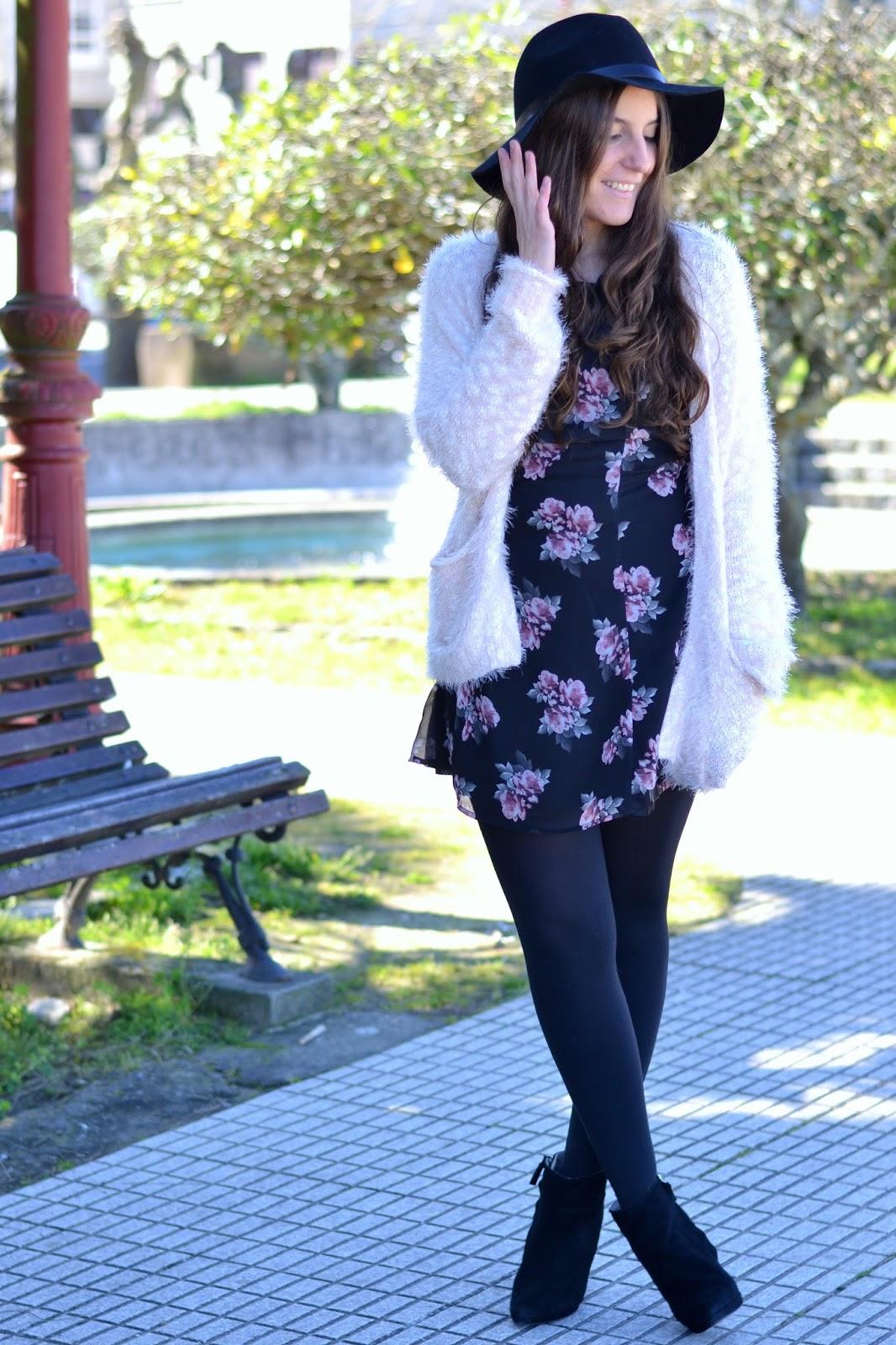 outfits chaqueta pelo