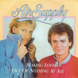 letra cancion air supply: