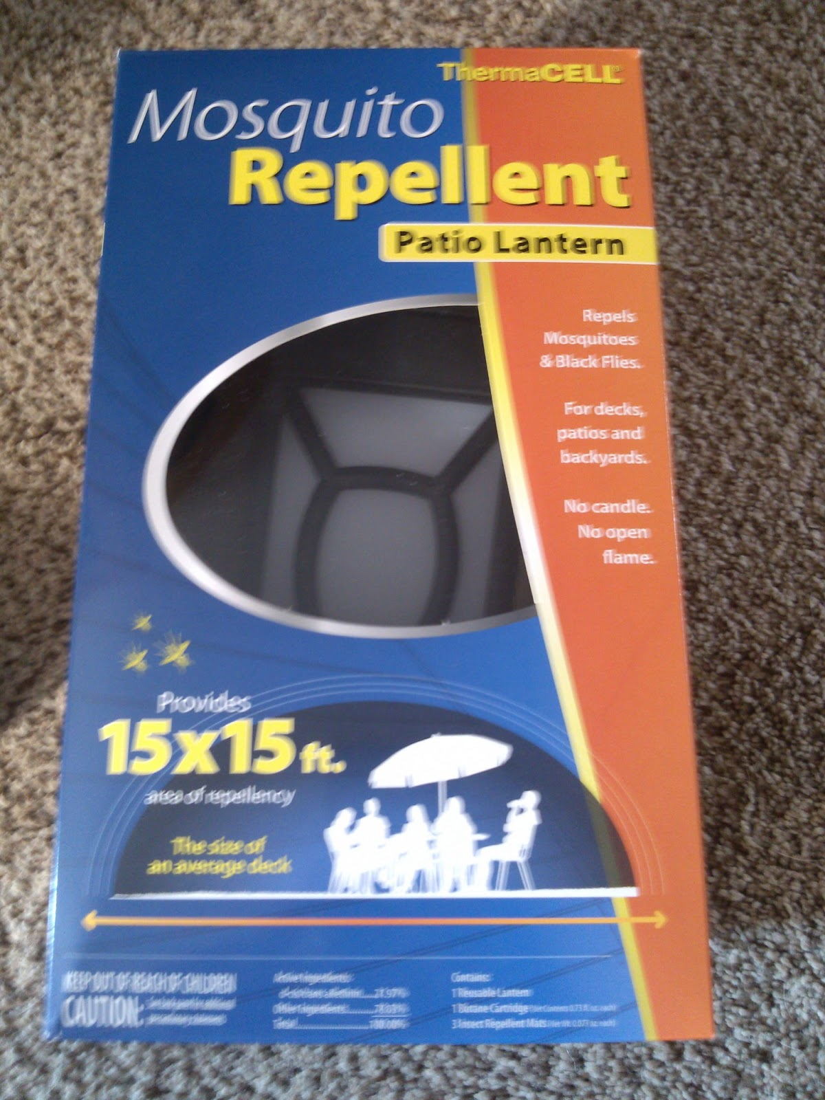 a lucky ladybug thermacell mosquito repellent patio lantern review and giveaway. Black Bedroom Furniture Sets. Home Design Ideas