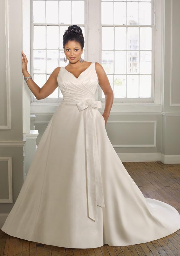 Vestidos de novia para gorditas - talla extra - por Mori Lee ...