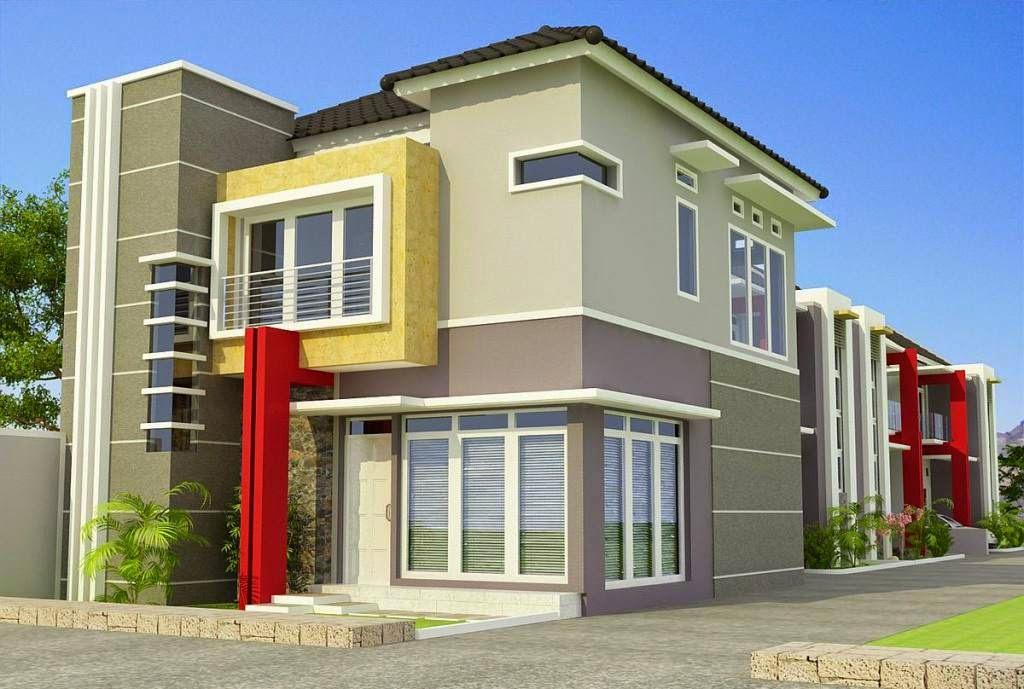 Desain Rumah Minimalis 1 Lantai Type 120