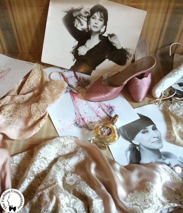 Valentina Cortese - Mostra Milano - Lingerie