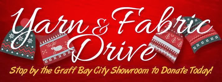 2013 Yarn & Fabric Drive at Graff Bay City