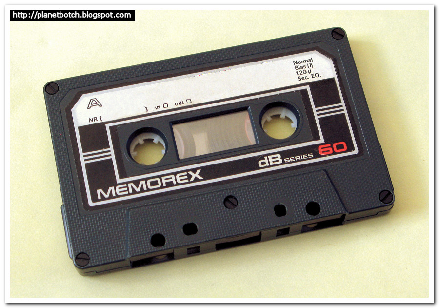 Memorex dB Series C60 audio cassette tape