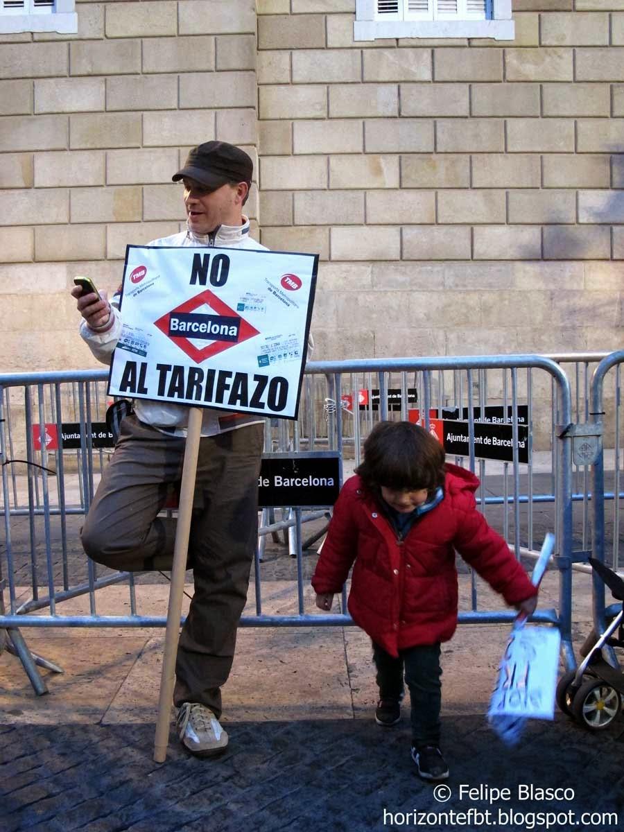 Manifestación #StopPujadesTransport