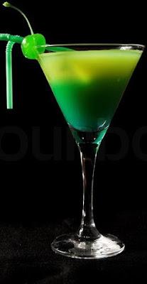 green dinosaur cocktail