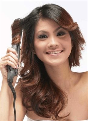Foto Model  Rambut Blow