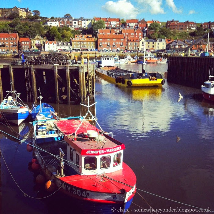 Whitby harbour - England