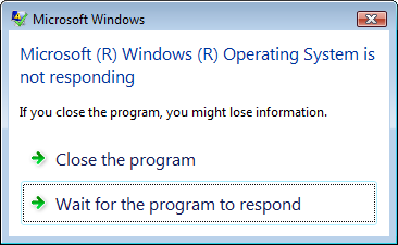 Not-Responding