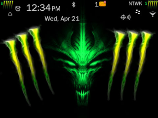 Monster Theme (9900/9930 OS7) Preview 1
