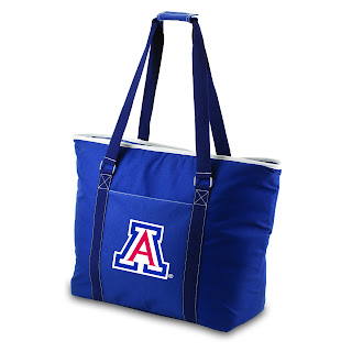 Arizona Wildcats NCAA  Insulated Cooler Beach Tote Bag