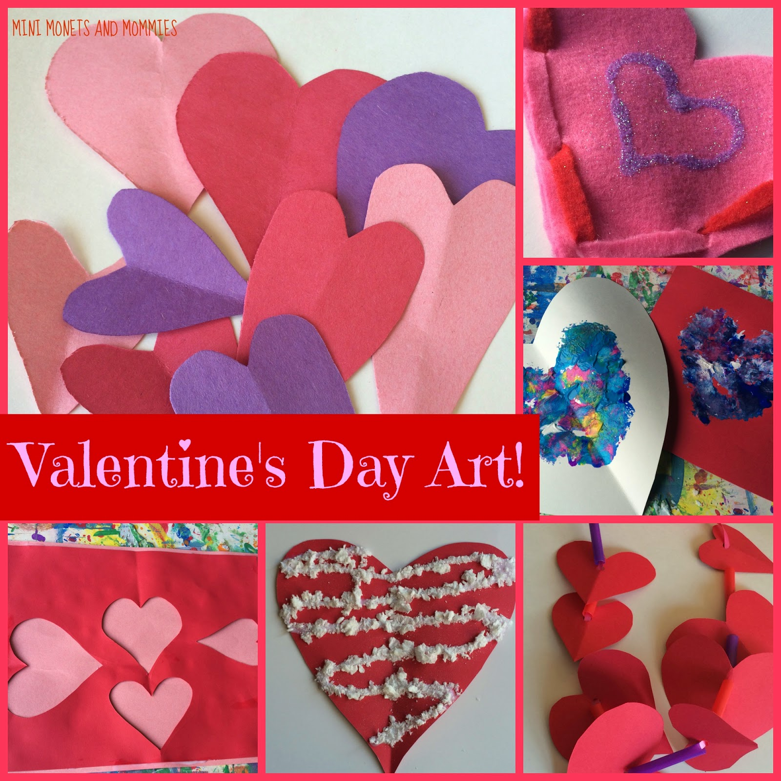 mini monets and mommies 9 creative valentine 39 s day crafts for kids. Black Bedroom Furniture Sets. Home Design Ideas