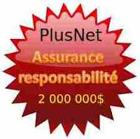 Assurance responsabilité PlusNet