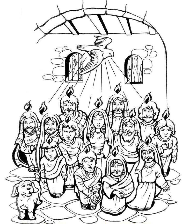 ReliArtes: Fichas Pentecostés