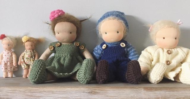 Zonnewol : Zonnekindpoppen en Waldorf dolls