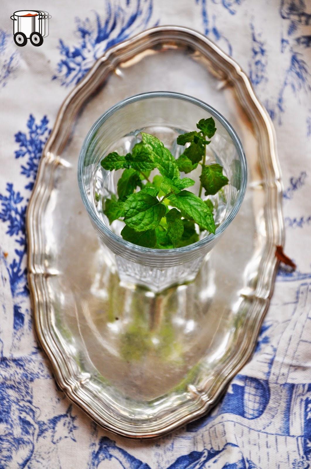 Szybko Tanio Smacznie - Domowa herbata miętowa