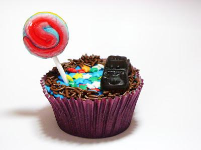 Cupcake dia das crianças