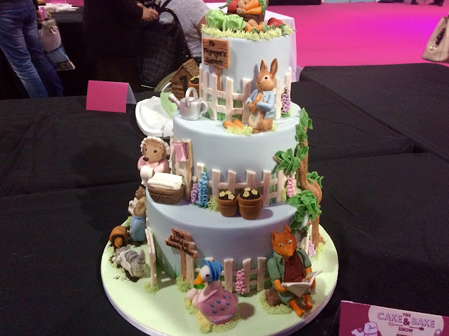 Cake & Bake Show Peter Rabbit Cake