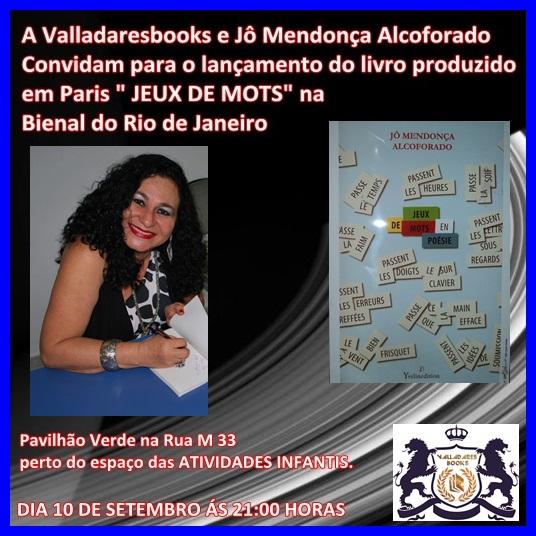 JEUX DE MOTS NA BIENAL DO RIO DE JANEIRO SETEMBRO DE 2011