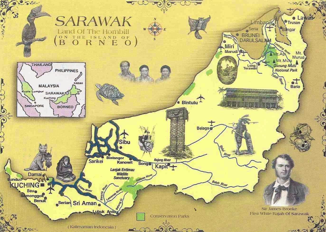 Big Blue 1840 1940 Sarawak
