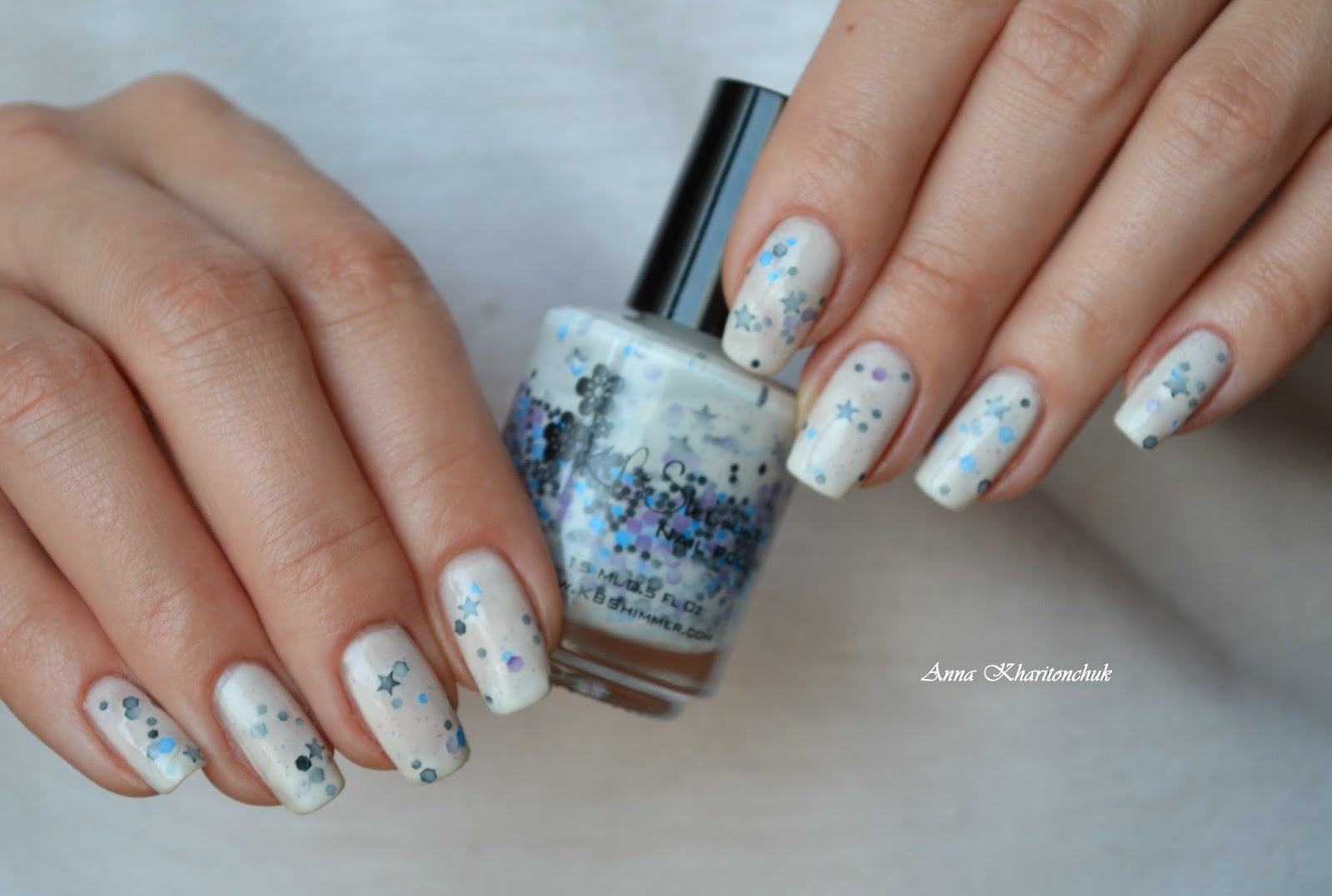 Winter11DNC: Глиттер. KBShimmer Let's Get Star-ted