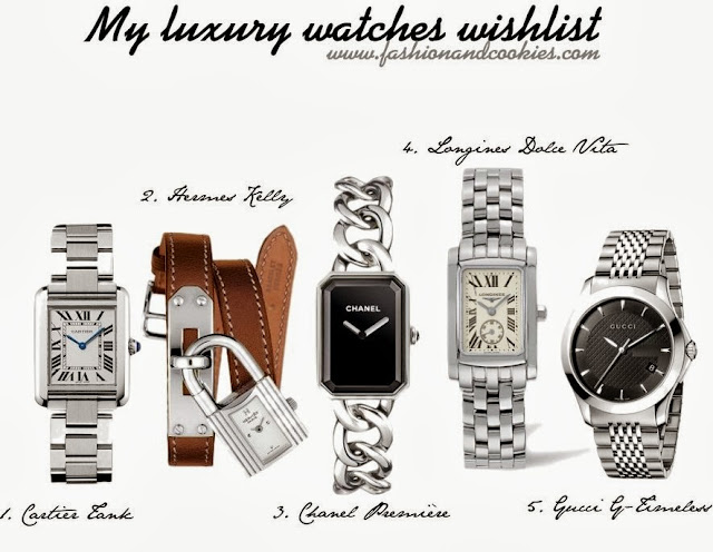 Luxury watches wishlist - from The Watch Gallery, Fashion and Cookies