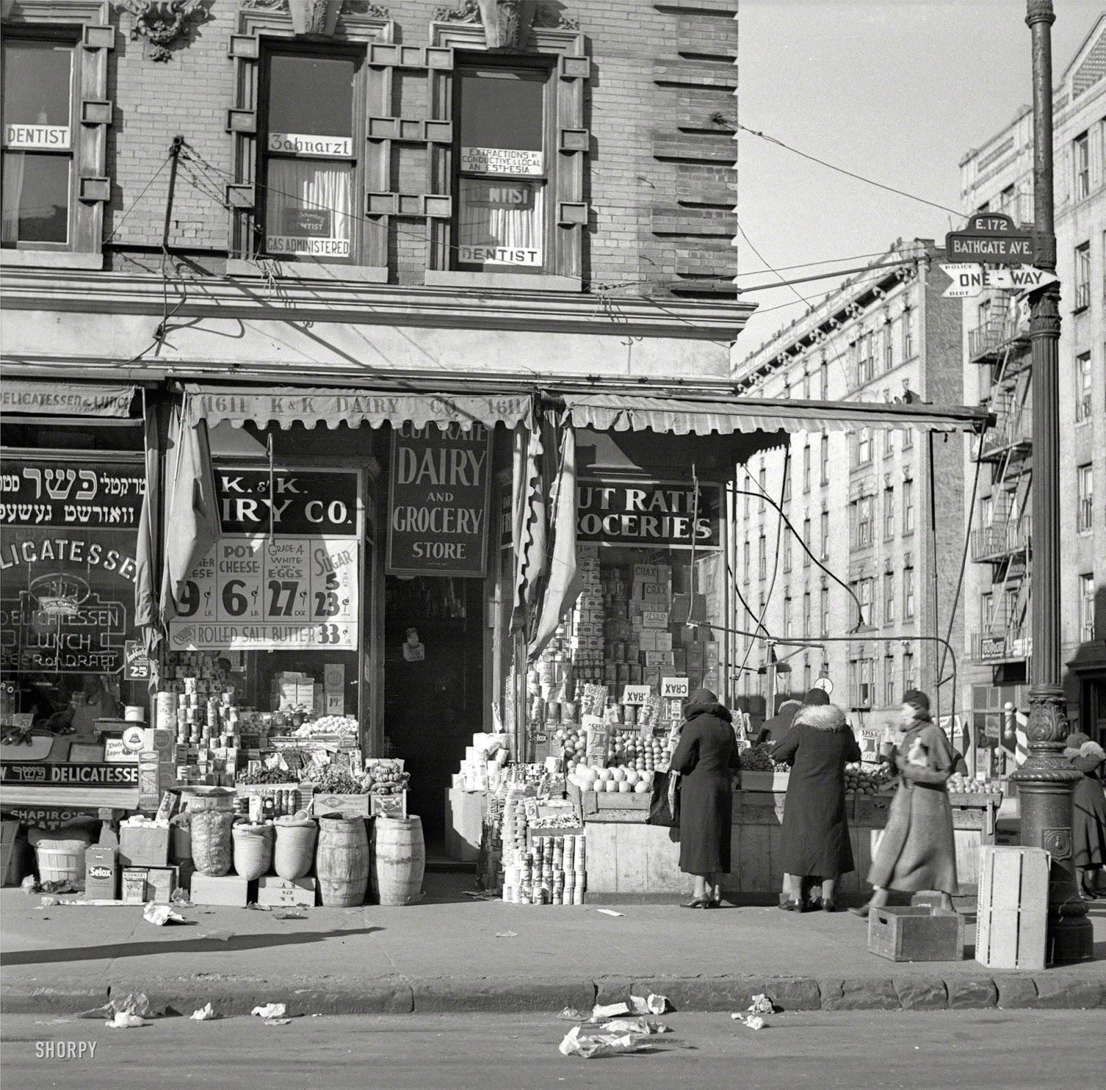 new york history geschichte k k grocery 1936. Black Bedroom Furniture Sets. Home Design Ideas
