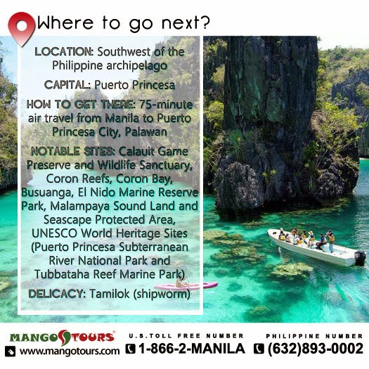 Mango Tours Where to go next Palawan