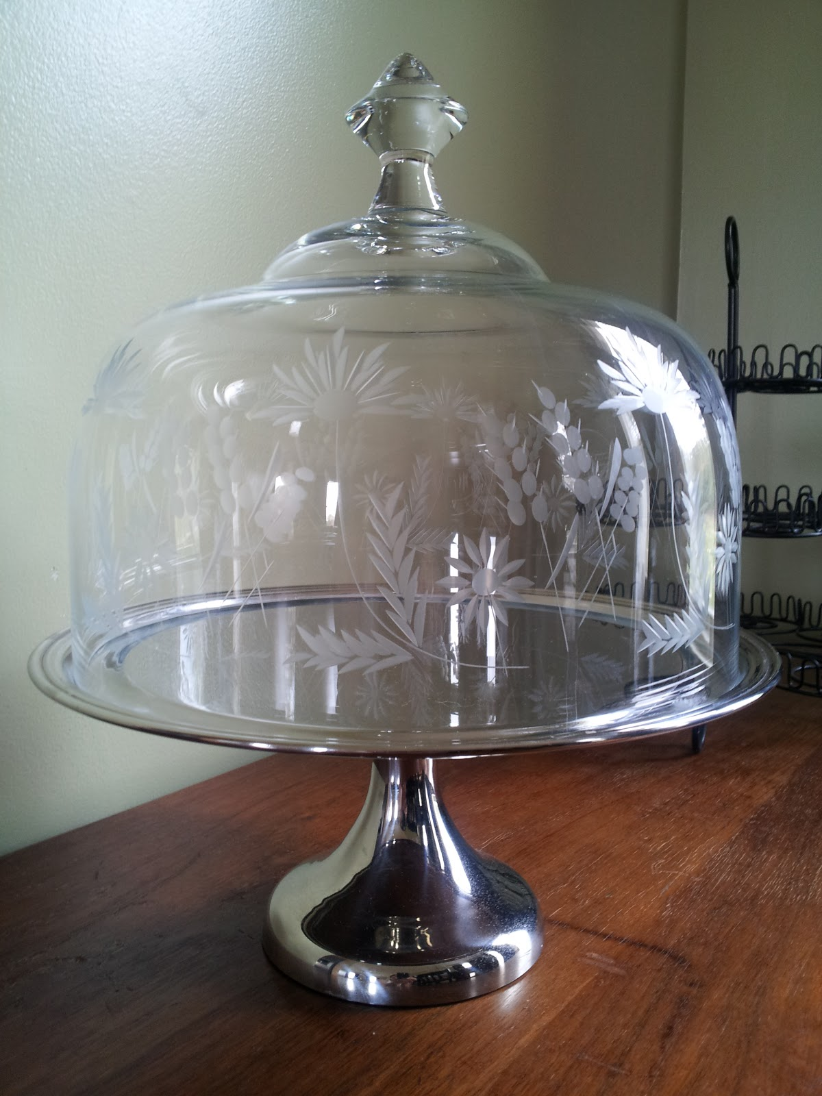 stand with ce cake dome image en guzzini pedestal l cm fratelli