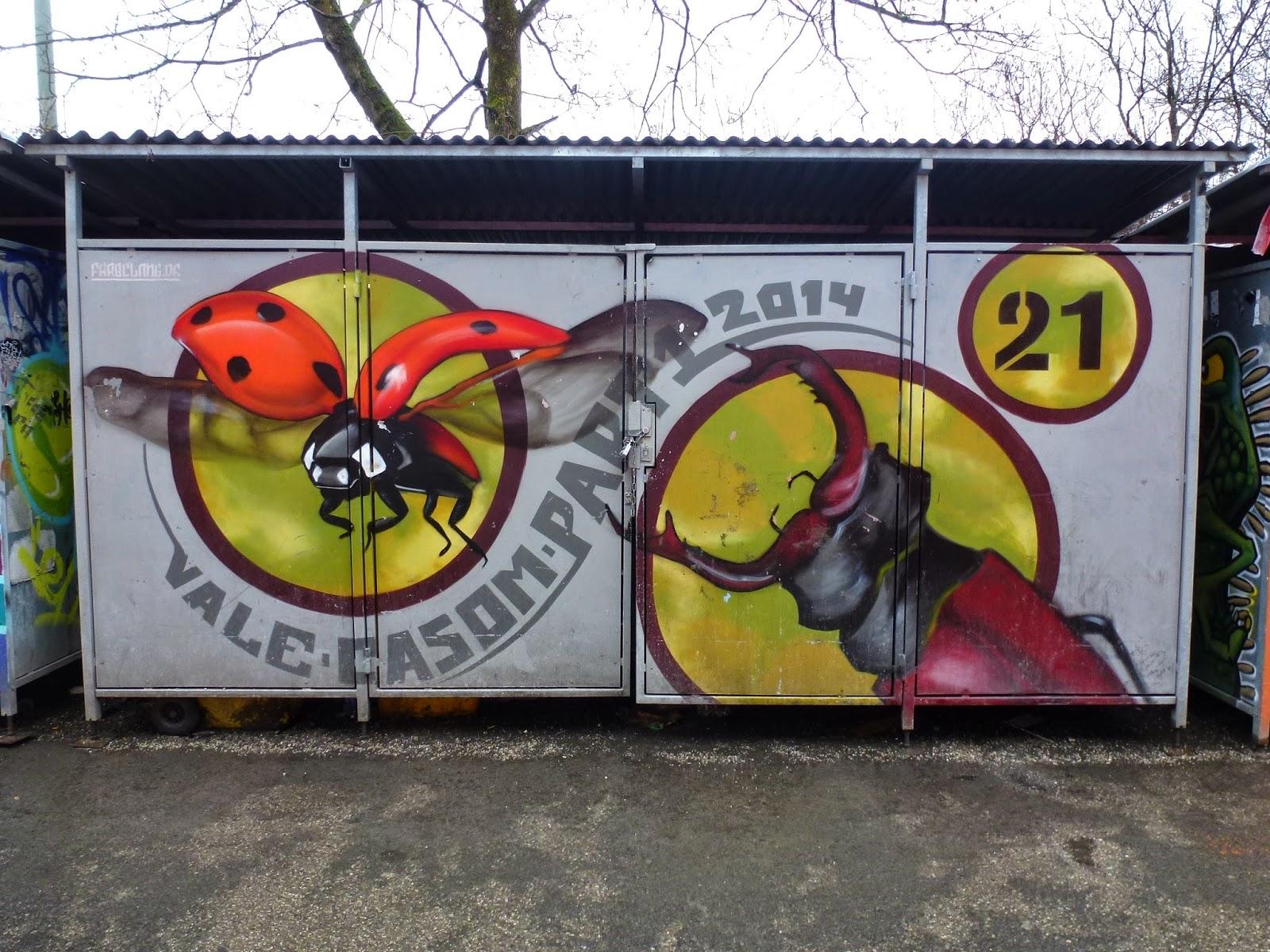 Graffiti, Kunstpark Ost