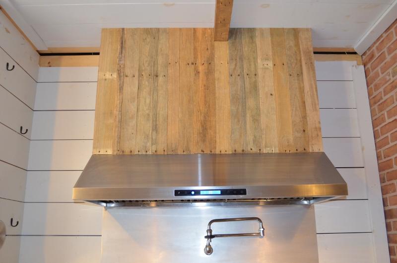 Wood Stove Hoods ~ Cabin fervor reclaimed wood range hood