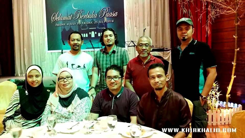 Berbuka Puasa Di Kelab Tasik Perdana Diraja, Royal Lake Club, Keluarga Haji Abdul Jamak,