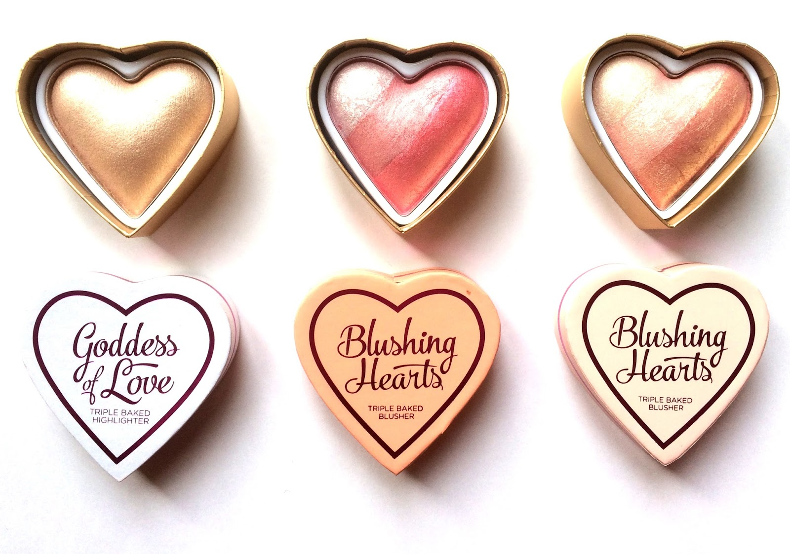 new blushing hearts shades