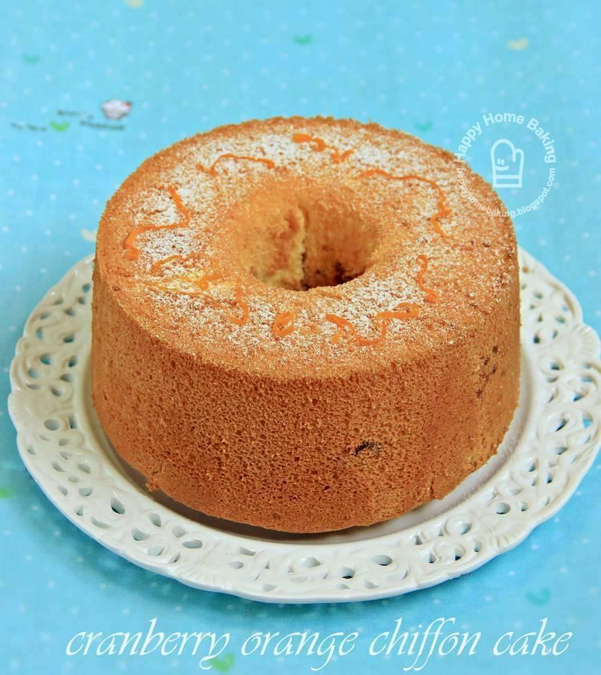 Chiffon Cake And Cupcakes Same Recipe