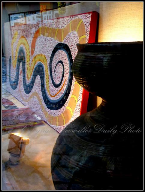 Aboriginal art Yuendumu Galerie Karin Carton Versailles