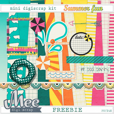 Free digi scrap Summer Fun from Mee Digi Scrap {PU}