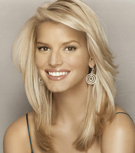 Jessica Simpson Hair Style Wallpapers