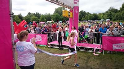 Winner 5k Race For Life 2015 Heaton Park, Manchester