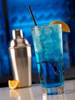 Nube Azul, Recetas de Cocteles para Fiesta
