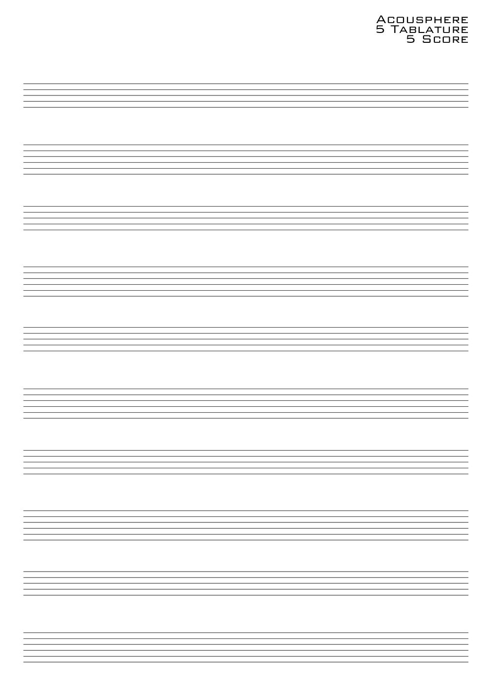 Guitar Lesson - Acousphere: 五線譜と ... : ノート テンプレート : すべての講義