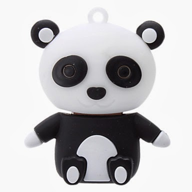 Memoria Flash USB 32 GB Oso Panda